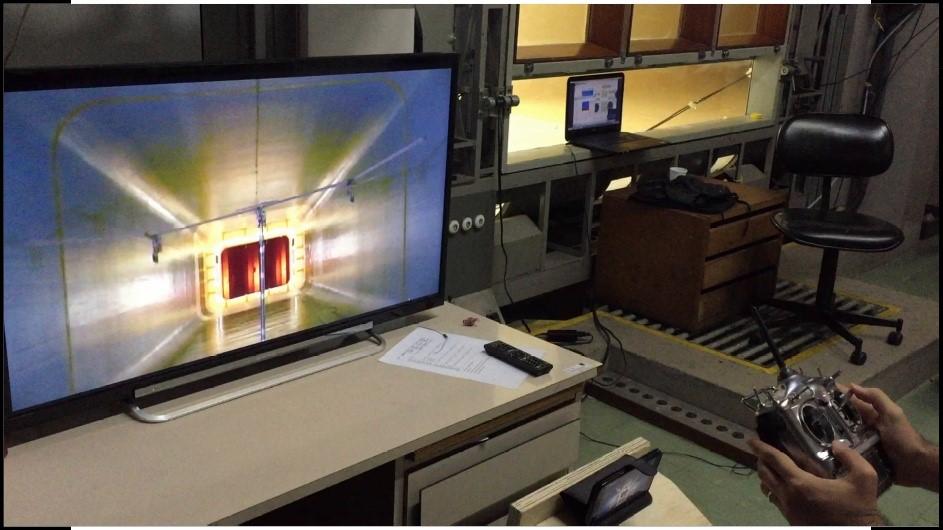 Ensaios em túnel de vento, realizados em 2017 no Instituto de Aeronáutica e Espaço - IAE