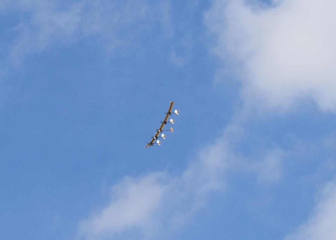 Aeronave X-HALE-BR de 6 metros – primeiro voo / 2019